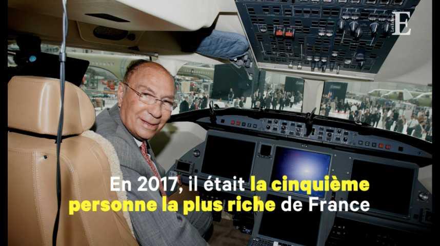 Illustration pour la vidéo Quatre choses à savoir sur Serge Dassault