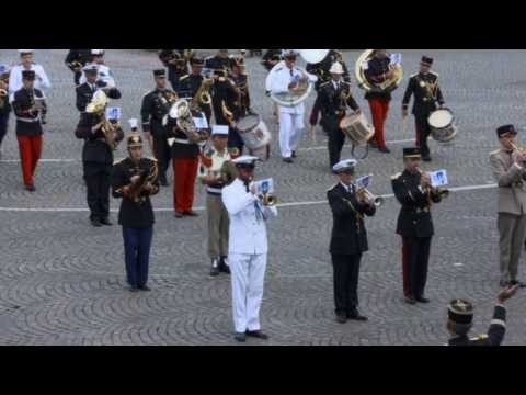 French military band dazzles with Daft Punk rendition