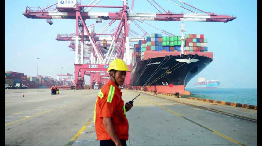 Illustration pour la vidéo Chine : la croissance s'envole, mais les investisseurs restent inquiets