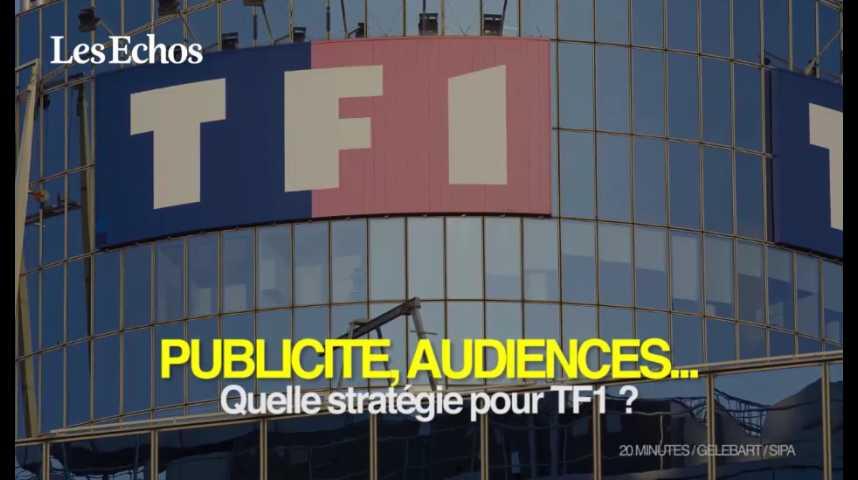 Illustration pour la vidéo TF1 : publicité, audiences... quelle stratégie ?