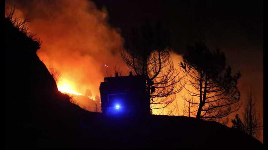 Illustration pour la vidéo Incendies dans le Sud-Est et en Corse : la France demande l'aide de l'UE