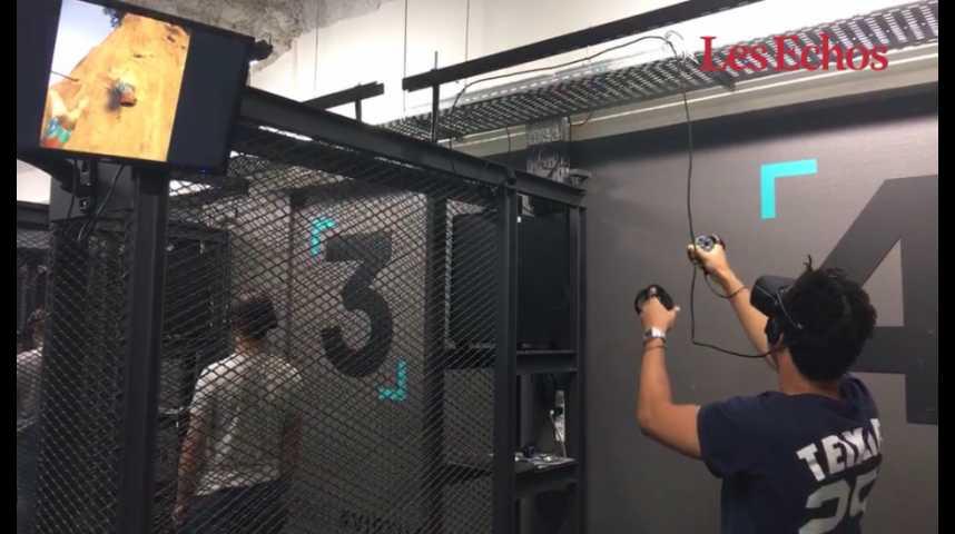 Illustration pour la vidéo On a testé Virtual Time, salle d'arcade en réalité virtuelle