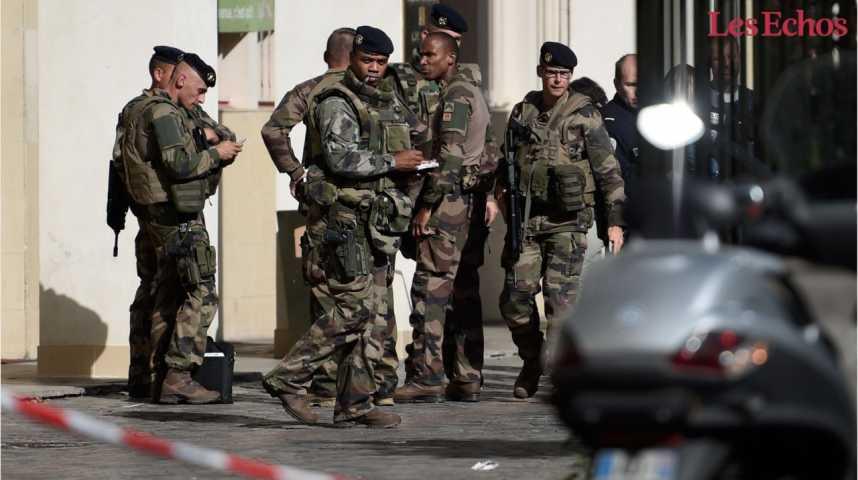 Illustration pour la vidéo Attaque contre des militaires à Levallois : ce que l'on sait