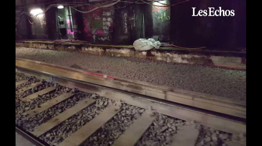 Illustration pour la vidéo RER A : dans les coulisses d'un chantier qui ne dort jamais