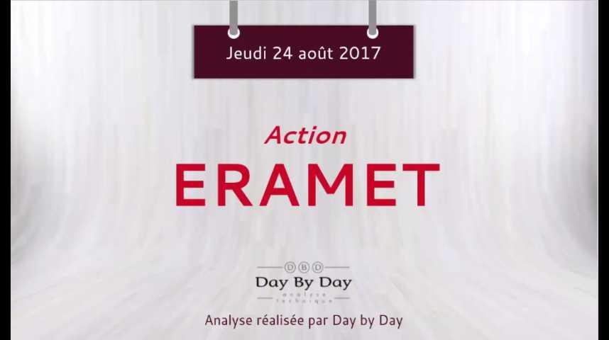 Illustration pour la vidéo Action Eramet - anticipation d'une sortie du triangle - Flash analyse IG 24.08.2017