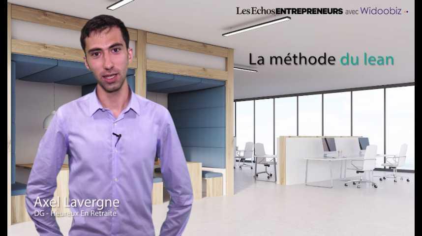 Illustration pour la vidéo Axel Lavergne - La méthode du lean