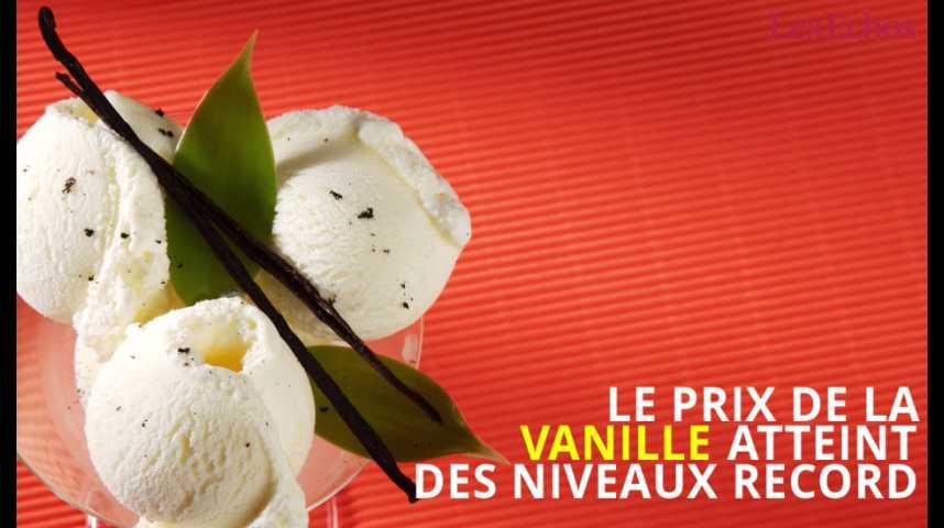 Illustration pour la vidéo Le prix de la vanille atteint des niveaux record