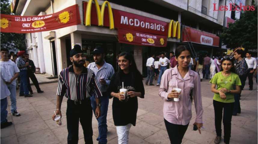 Illustration pour la vidéo En Inde, 40 % des McDonald's vont fermer