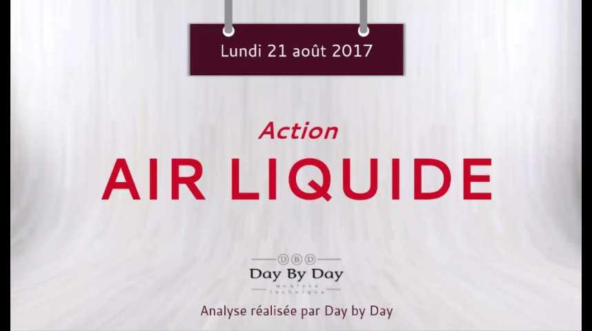 Illustration pour la vidéo Action Air Liquide : la baisse se poursuit - Flash analyse IG 21.08.2017