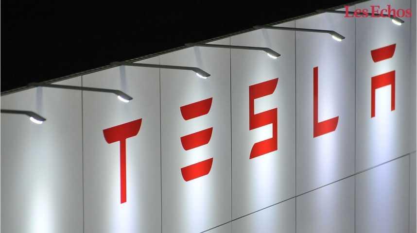 Illustration pour la vidéo Tesla double son chiffre d'affaires mais reste dans le rouge