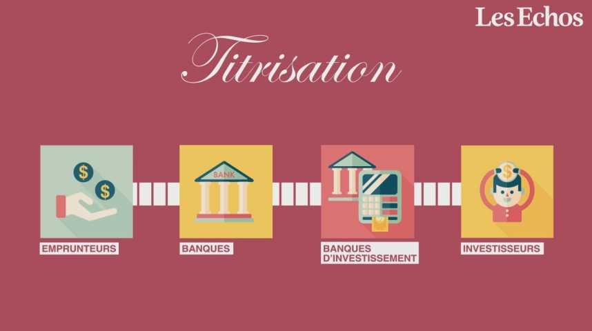 Illustration pour la vidéo Titrisation, mode d'emploi (ou comment la crise a commencé il y a 10 ans)