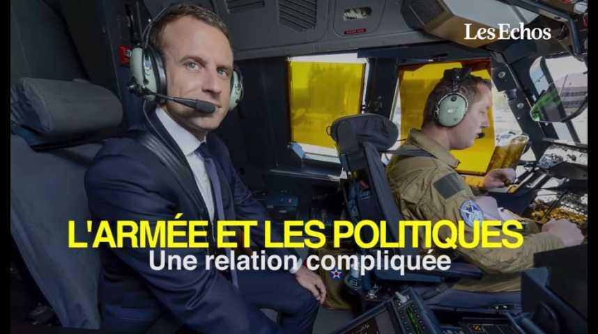 Illustration pour la vidéo L'armée et les politiques : une relation compliquée