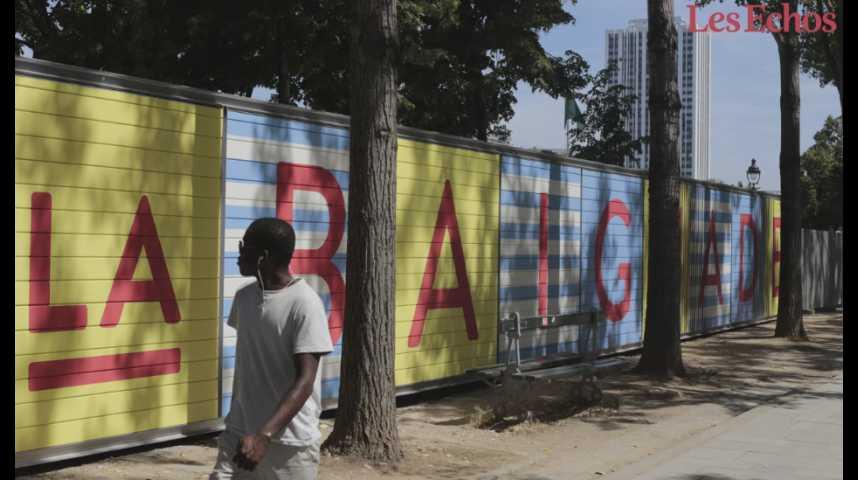 Illustration pour la vidéo Promenade visuelle et sonore à l'ouverture du bassin de la Villette