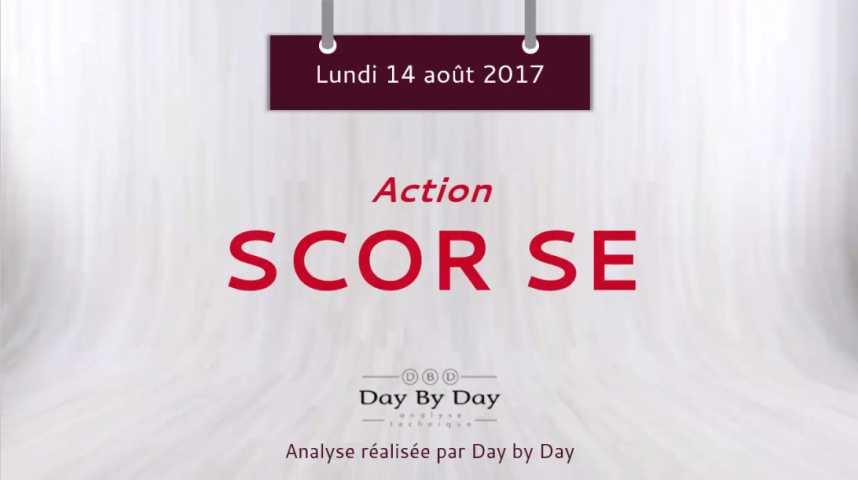 Illustration pour la vidéo Action Scor SE : rebond sur support majeur - Flash analyse IG 14.08.2017