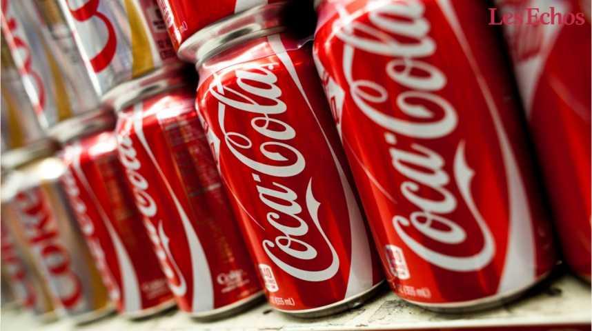 Illustration pour la vidéo Coca-Cola lance un soda contre l'obésité aux Etats-Unis