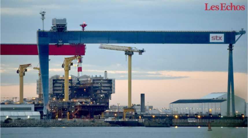 Illustration pour la vidéo L'Etat va nationaliser de façon temporaire les chantiers navals STX