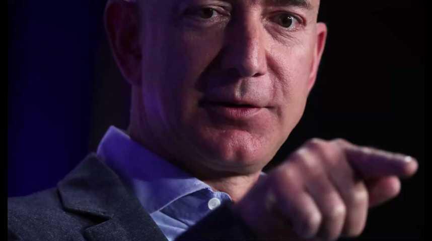 Illustration pour la vidéo Jeff Bezos (Amazon) devient brièvement l'homme le plus riche du monde
