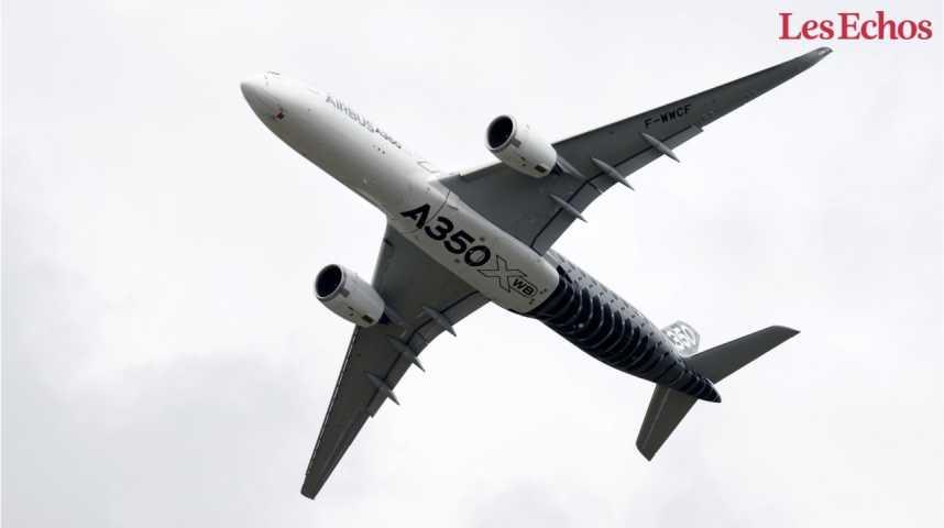 Illustration pour la vidéo Airbus et Boeing s'affrontent sur une commande-clef d'Emirates