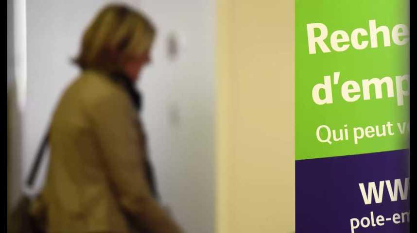 Illustration pour la vidéo France : le taux de chômage a 9,5% au deuxième trimestre