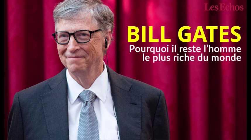 Illustration pour la vidéo Pourquoi Bill Gates reste l'homme le plus riche du monde