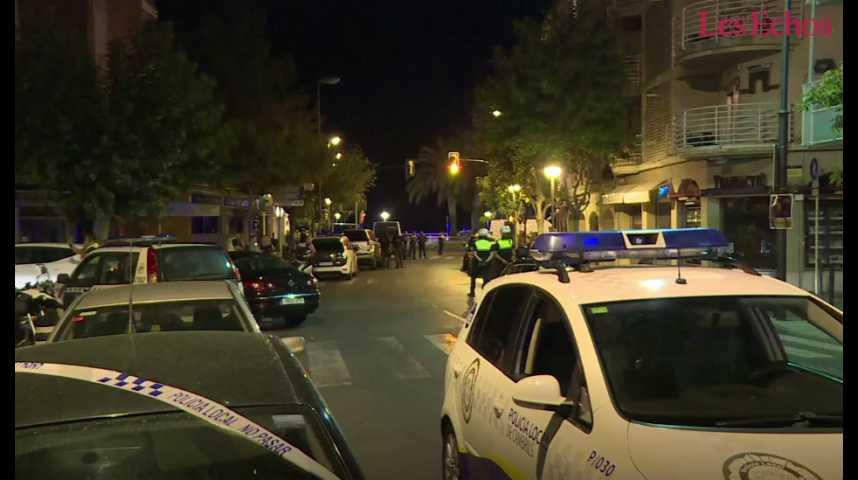 Illustration pour la vidéo L'Espagne touchée par deux attentats à quelques heures d'intervalles