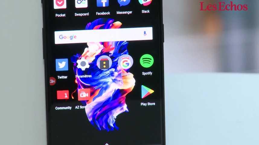 Illustration pour la vidéo Le OnePlus 5, smartphone le plus puissant du marché