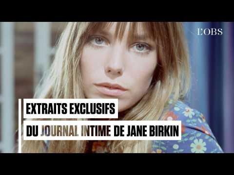 """""""Il y a un homme que j'aime et son nom est Gainsbourg"""" : extraits exclusifs du journal de Birkin"""
