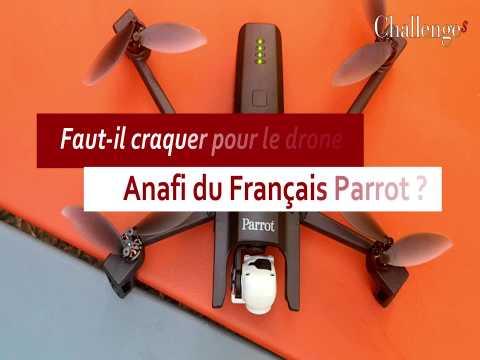 Faut-il craquer pour le drone Anafi du Français Parrot ?