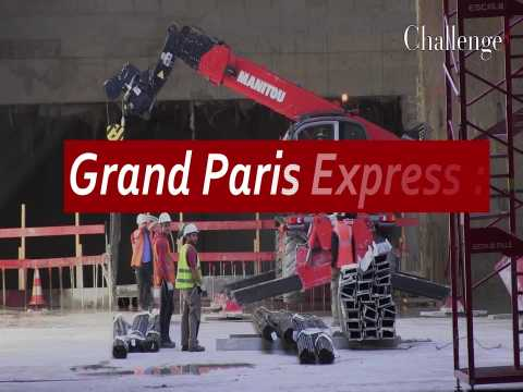 Grand Paris Express : Le chantier de la Gare de Noisy-Champs pour la ligne 16