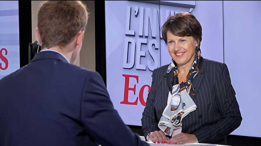 Illustration pour la vidéo Annie Genevard, secrétaire générale LR, ne veut pas dire si elle aurait voté les sanctions contre Viktor Orban