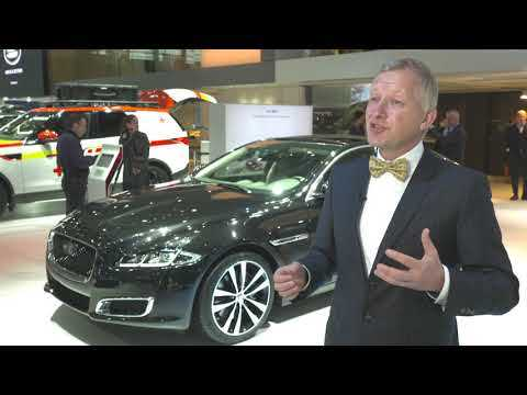 Jaguar Land Rover at the Paris AutoMondial 2018 - Interview Felix Bräutigam