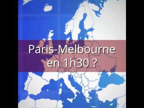 Le Space Liner rallierait Paris à Melbourne en 90 minutes