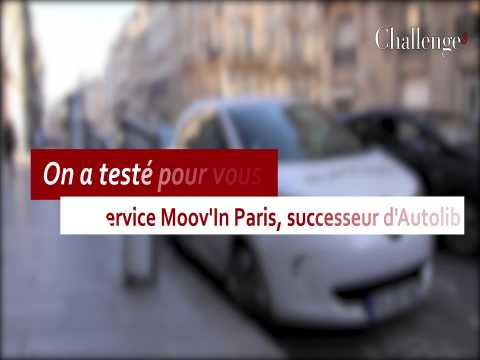 On a testé pour vous : Moov'in Paris,  successeur d'Autolib ?