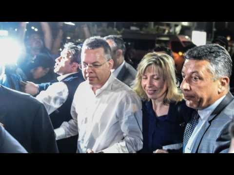 US pastor released by Turkish court after two-year detention