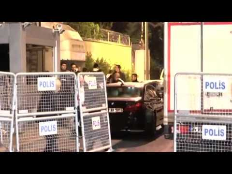 Witness: Turkish Police Leave Saudi Consulate