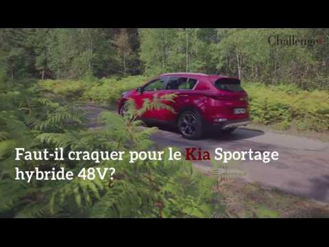 Faut-il craquer pour le Kia Sportege 48 V?