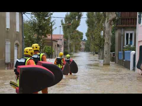 Au moins 10 morts dans des inondations dans l'Aude
