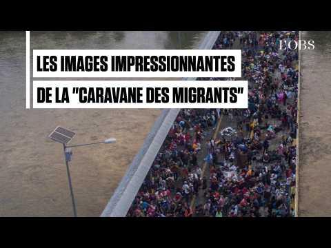 """""""Caravane de migrants"""" : des milliers de Honduriens en route vers les Etats-Unis"""