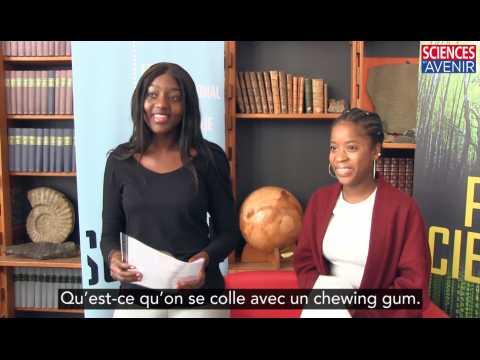 Chewing-gum : un documentaire scientifique conçu par des lycéens