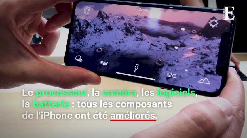 Illustration pour la vidéo iPhone XS et XS Max : première prise en main depuis Cupertino