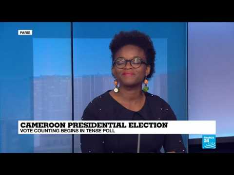 Vote counting underway in Cameroon in a presidential election marked by low voter turnout and security fears