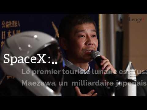 SpaceX : le premier touriste lunaire sera un milliardaire japonais