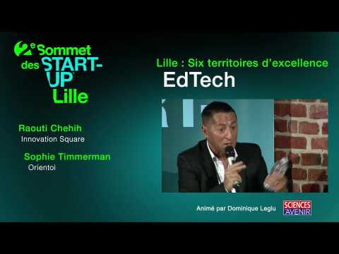 Sommet des start-up : les EdTech ou l'IA dans l'éducation