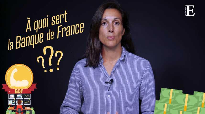 Illustration pour la vidéo A quoi sert la Banque de France? (et comment gagne-t-elle sa vie?)