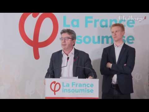 5 points à retenir de la conférence de presse de Mélenchon