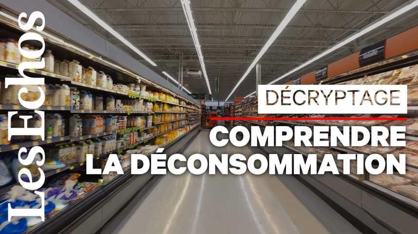 Illustration pour la vidéo La déconsommation, le phénomène qui inquiète les supermarchés