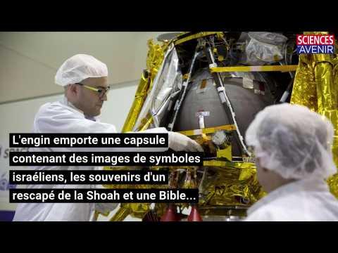 Israël envoie une sonde sur la Lune
