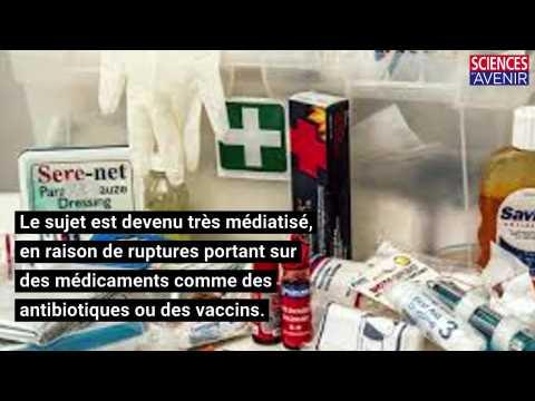 Un plan d'actions contre la pénurie de médicaments