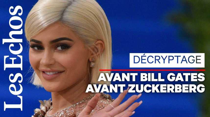Illustration pour la vidéo Moi Kylie Jenner, 21 ans, plus jeune milliardaire de l'histoire