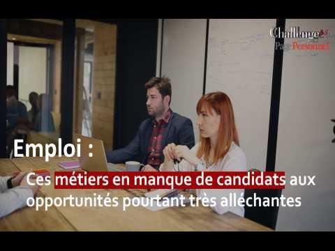 Emploi : Ces métiers en manque de candidats aux opportunités pourtant très alléchantes
